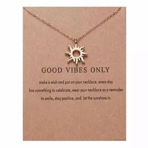 NEW!! ❤️ Good Vibes Only Necklace
